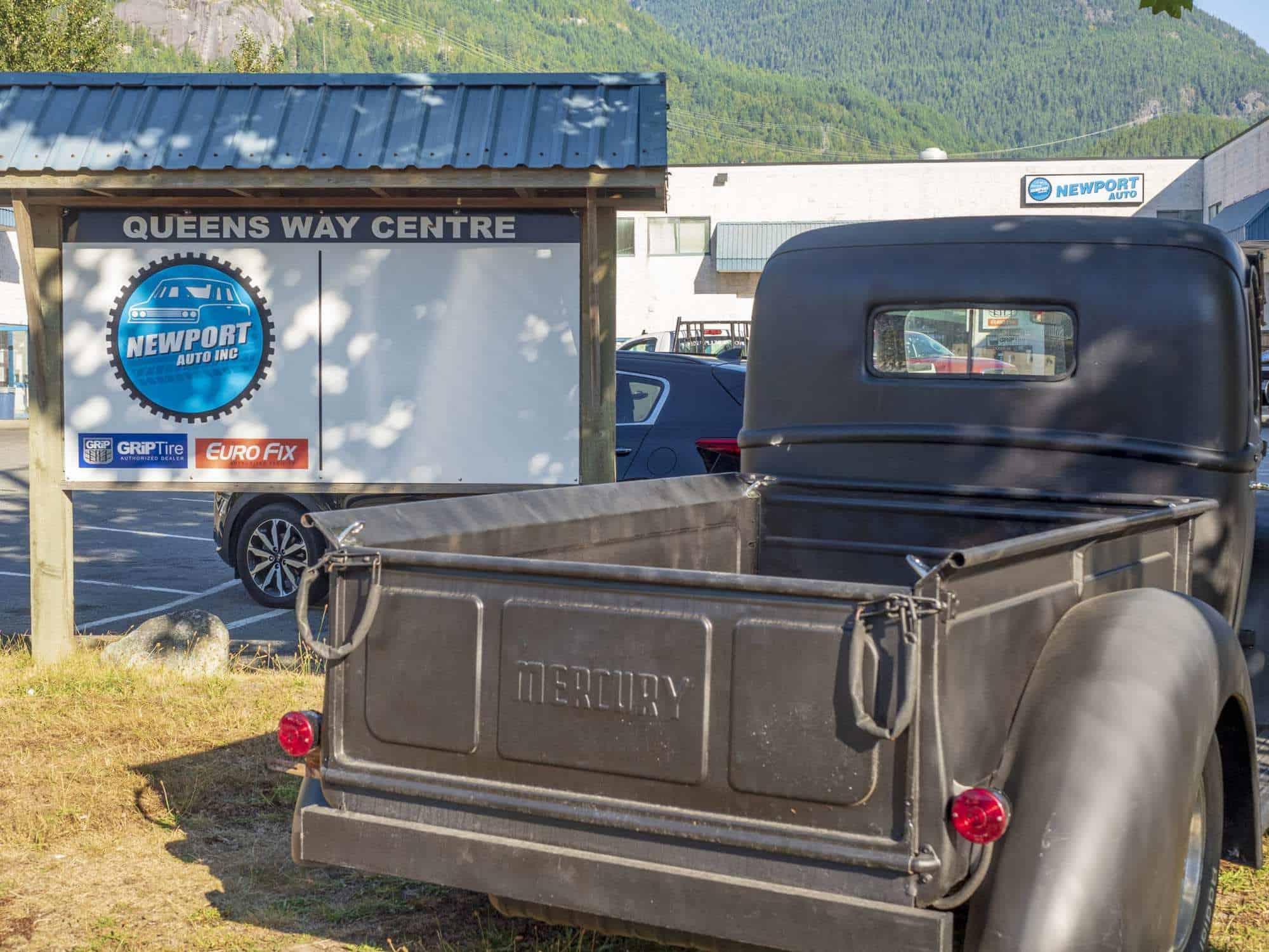 Newport Auto Mechanic Squamish Outside